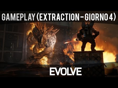 Evolve - Extraction: Giorno 4 (Goliath, Modalità Caccia) - Gameplay ITA HD