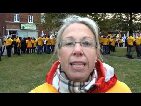 Grève du personnel scolaire