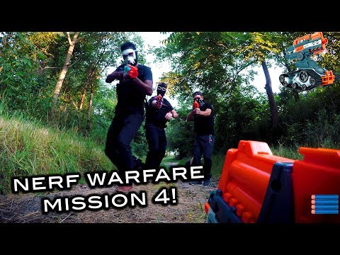 Nerf meets Call of Duty: Campaign | Mission 4 (Nerf Warfare Drone Edition)