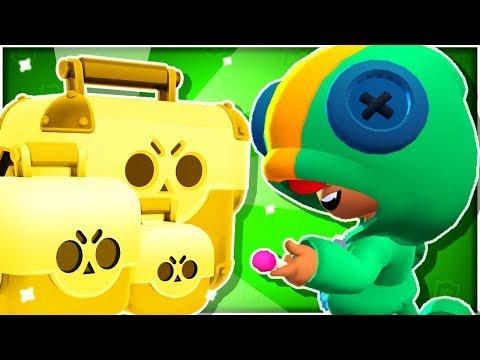 New Leon Brawl Box Opening Challenge / Mini Game! + Showdown Gameplay! - Brawl Stars