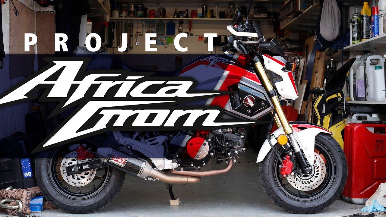 Honda Grom Review >> Honda MSX125 Grom | 4th Dimension custom paint review ...