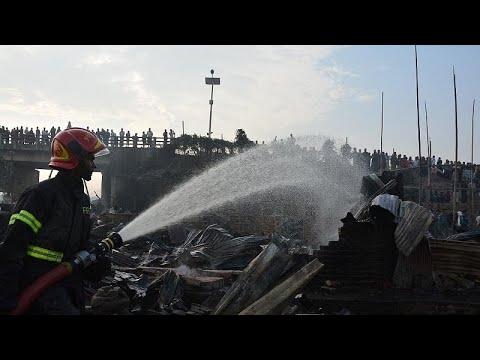 حريق بمنطقة عشوائيات في بنغلادش يسفر عن ثمانية قتلى على الأقل …  - نشر قبل 5 ساعة
