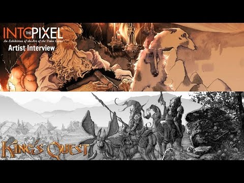 #IntothePixel Artist Interview with Evan Cagle (King
