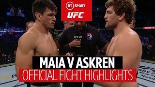 Demian Maia vs Ben Askren (UFC Singapore) | Fight Highlights | Battle of the Grapplers