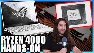 AMD Ryzen 4000 CPU Hands-On: ASUS G14 Zephyrus Laptop on Zen2