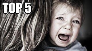 TOP 5 - (Nejhorších) Psychologických experimentů na dětech