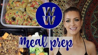 WW Meal Prep   Pineapple Coconut Overnight Oats, Beef & Rice Skillet, Funfetti Protein Donuts