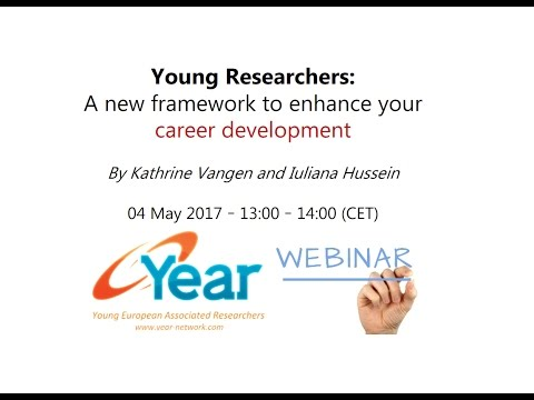Young researchers - A new framework to enhance your career development
