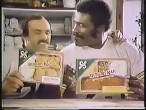 Rocky Bleier & Mean Joe Greene 1979 Swanson Hungry Man Dinner Commercial