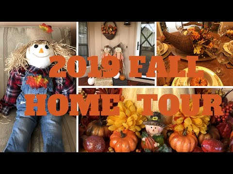 Fall Home Tour 2019 | Warm And Inviting Traditional Colors