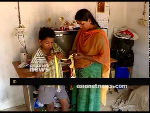 Husband passed away, son blood cancer patient; Piteous condition of Bindulekha