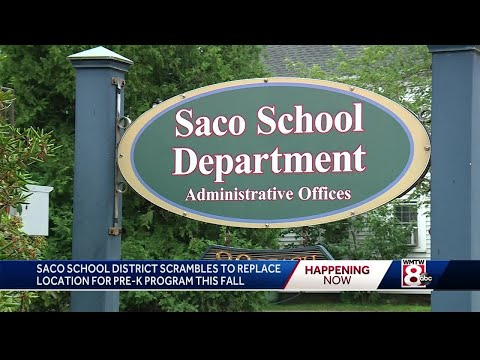 Saco School Department told to find new location for pre-K program