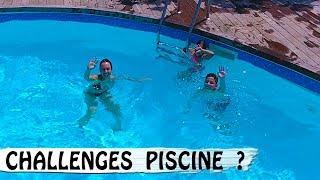CHALLENGES  PISCINE EN FAMILLE / Family Vlog en Corse / Vlog Vacances