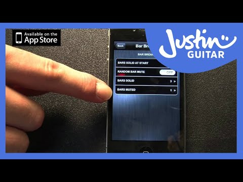 The Time Trainer Metronome App by JustinGuitar - Promo Video