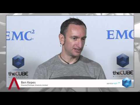 Ben Kepes - EMC World 2013 - theCUBE - #EMCWorld