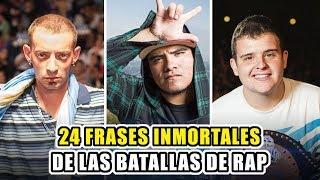 24 FRASES INMORTALES DE LAS BATALLAS DE RAP (DE TODA LA HISTORIA)