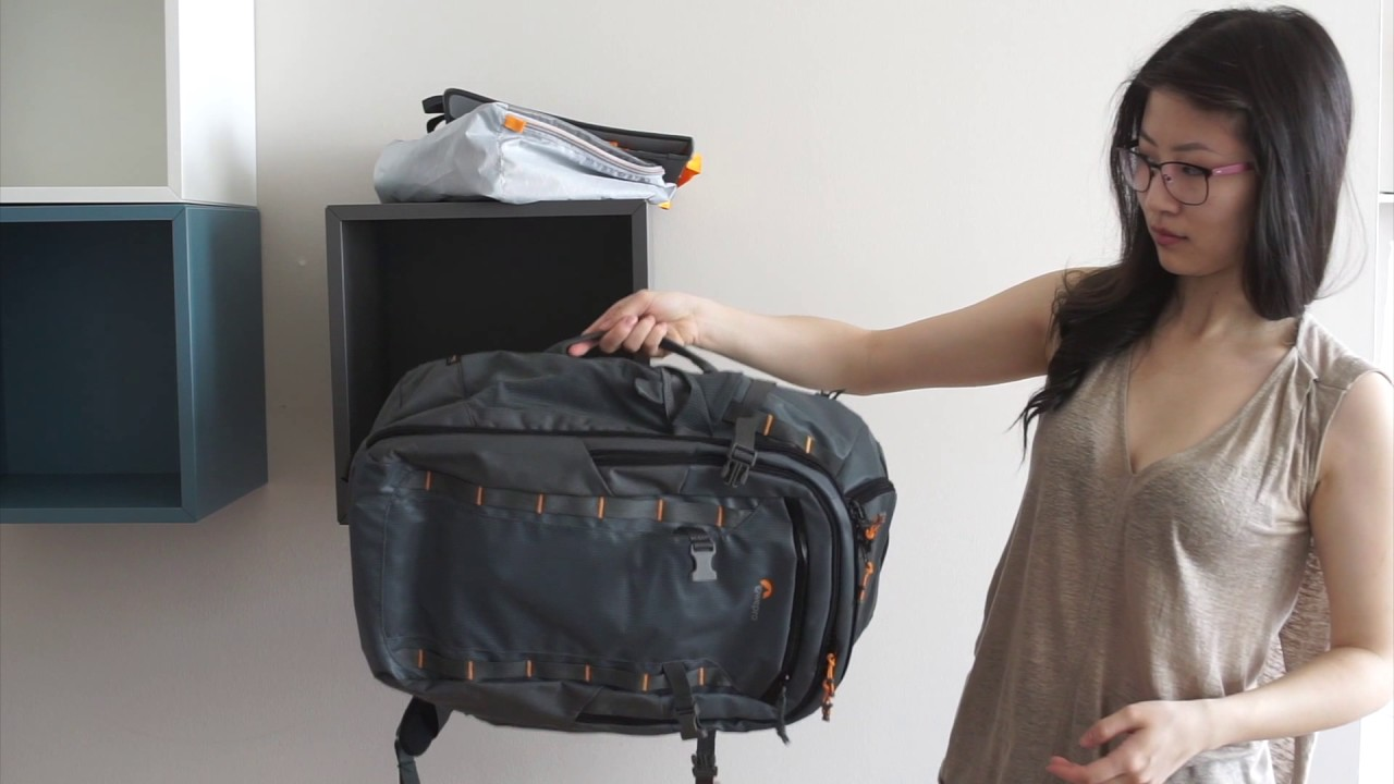 65226def3e Lowepro backpack blogger review - YouTube