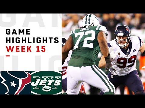 Texans vs. Jets Week 15 Highlights | NFL 2018