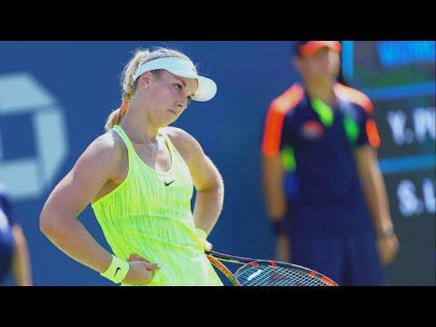 Lisicki vs Putintseva - 2016 US Open R1 Highlights