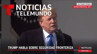 Trump declara emergencia nacional para construir el muro fronterizo | Noticias Telemundo