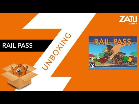 Rail Pass Unboxing