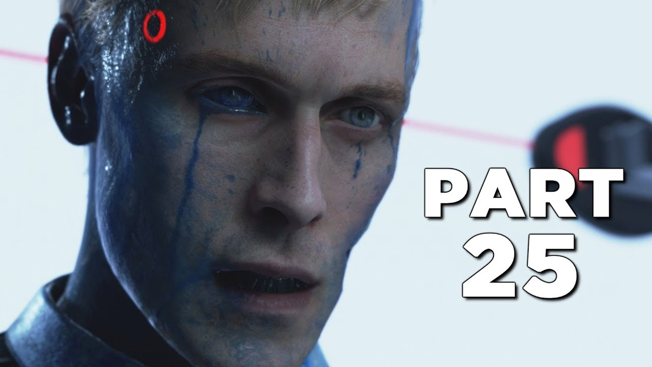 DETROIT BECOME HUMAN Walkthrough Gameplay Part 25 - LAST CHANCE (PS4 Pro)