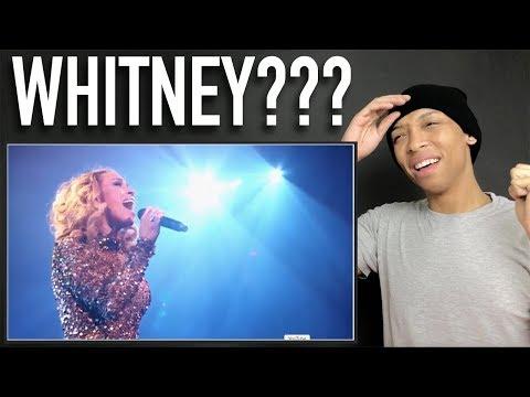 Glennis Grace - Insane This Girl is Whitney Houston reborn  REACTION