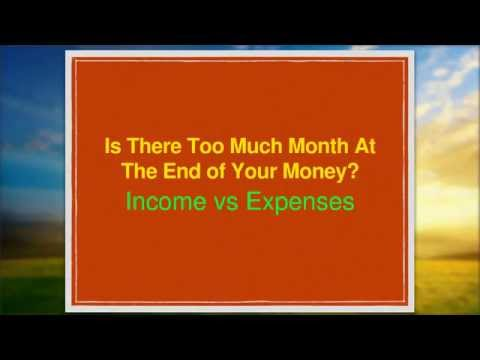 Income vs. Expenses