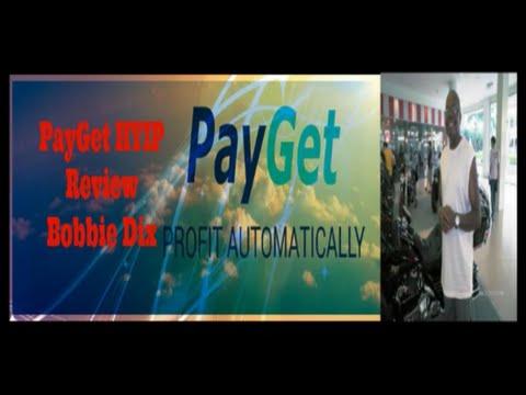 PayGet HYIP Review   Bobbie Dix