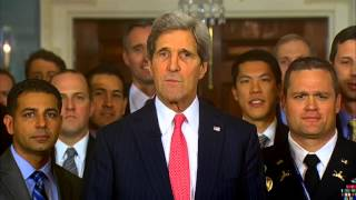 Secretary Kerry Delivers a Video Message for the Army-Navy Football Game