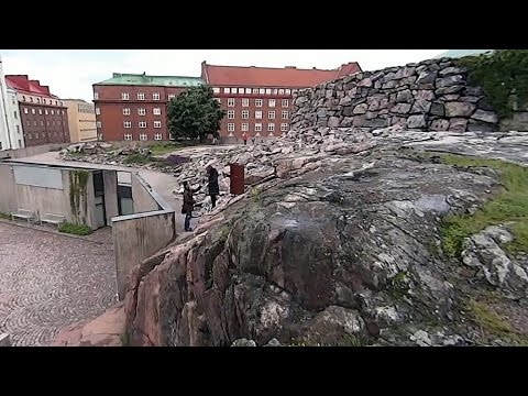 芬蘭Finland,赫爾辛基Helsinki - Temppeliaukion Church 岩石教堂(戶外)