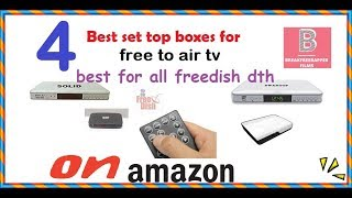 BEST SET TOP BOXES FOR FREEDISH THE BEST TECHNOLOGY HD SET TOP BOX