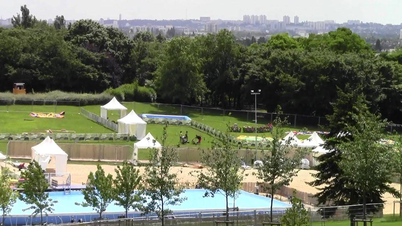 Parc Aulnay Sous Bois - Aulnay sous Bois Aulnay Plage au Parc Ballanger F u00eate de l'été 2012 30 juin 2012 YouTube