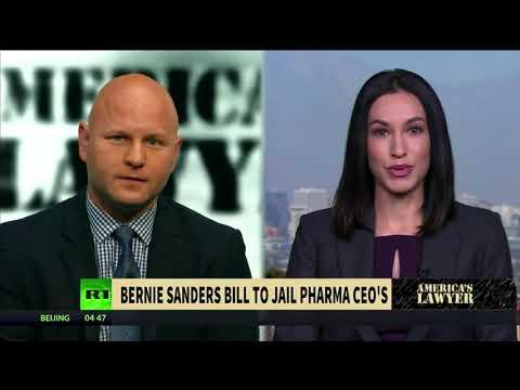 Bernie Sanders introduces bill to jail pharma CEOs over opioid crisis