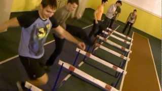 тренировка в МИТХТ с барьерами.