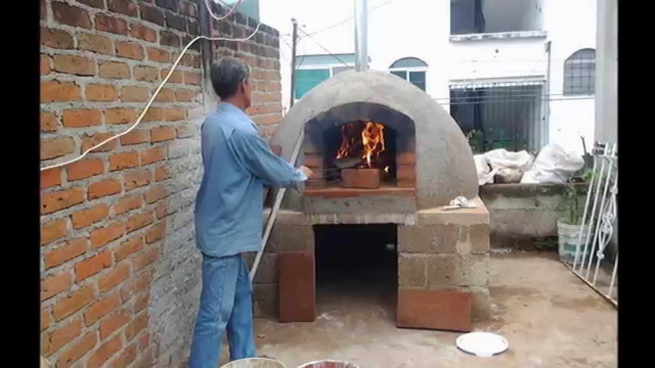 Horno de barro how to make horno de le a youtube - Hornos de barro ...