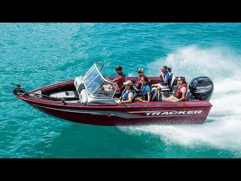 Tracker boats 2017 targa v 18 combo deep v aluminum for Tracker fishing boats