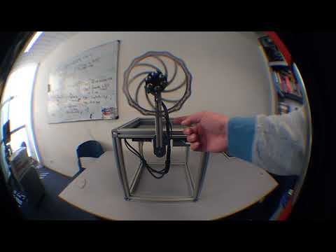 Reaction wheel inverted pendulum