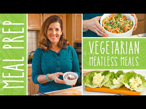 Vegetarian Meal Prep | Low Carb Plant Based Recipes for a Flexitarian Diet