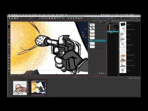 Drawing Straight Lines With Brush In Photo : Draw straight lines with the brush tool in storyboard pro 4.2