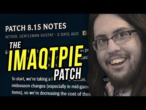 Imaqtpie - THE IMAQTPIE PATCH! LEAGUE IS MINE AGAIN