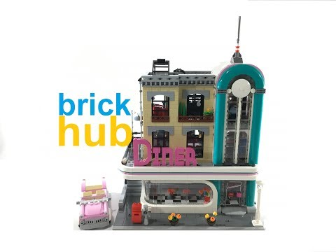 Review: LEGO Downtown Diner 10260 Creator Expert Modular
