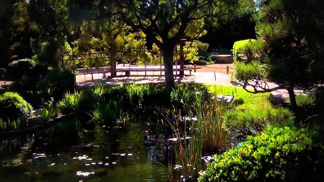 Earl Burns Miller Japanese Garden Youtube
