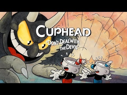 Cuphead Co-Op Playthrough World 1 (No Commentary)