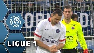 L'incroyable triple occasion du PSG face à Caen 19ème journée de Ligue 1 / 2015-16