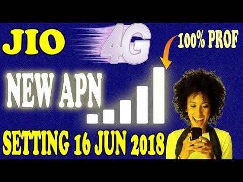 Jio New Apn Setting Jun 2018 |How To Increase Jio Net Speed |आप के पास जिओ सिम है तो बदल दो setting