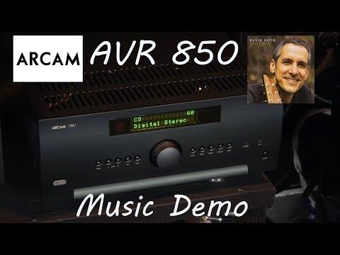 Arcam AVR850 Review Music Demo - David Roth Pearl Diver Home Cinema AV Receiver