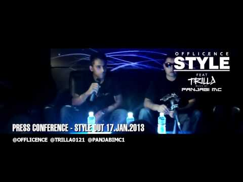 STYLE | PRESS CONFERENCE | NEW SINGLE OUT 17.JAN.2013