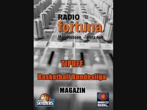 Interview - BBC Bayreuth - Radio Fortuna - TIPOFF Basketball Bundesliga - MAGAZIN - 15.10.2012