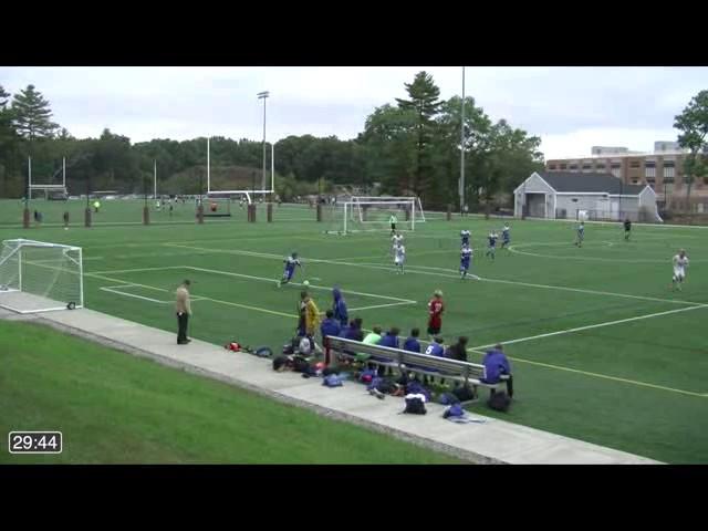 Acton Boxborough Varsity Boys Soccer @ CCHS 10/03/14